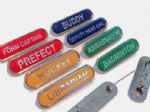 Stock School Badges BAR Shape